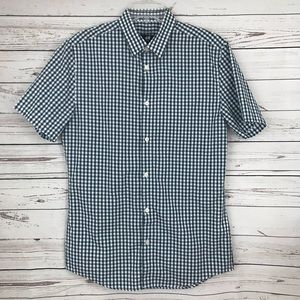 H&M Short Sleeve Slim Fit Button Down Shirt